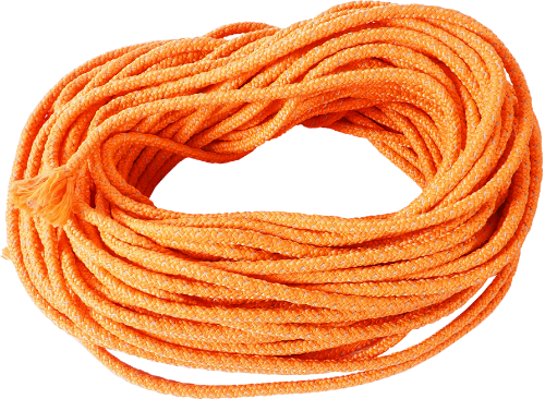 Safety rope orange reflective