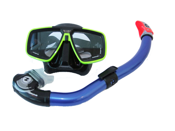 Look mask + Mach Dry snorkel