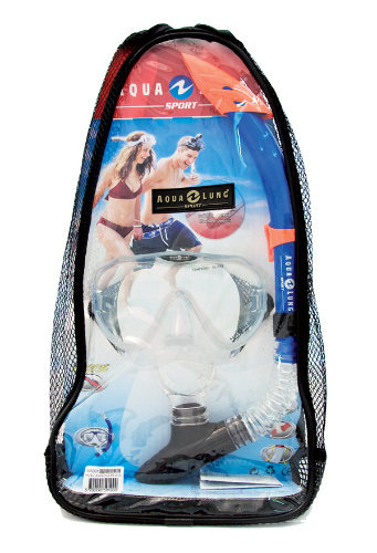 Malibu mask + Veracruz snorkel