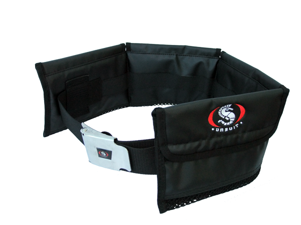 Ursuit weightbelt with pockets
