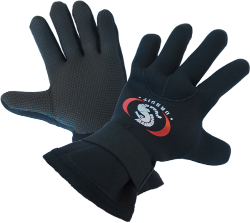 Ursuit Neoprene Gloves 5-finger 3mm